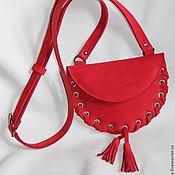 Работы для детей, handmade. Livemaster - original item Baby bag Redbag. Handmade.