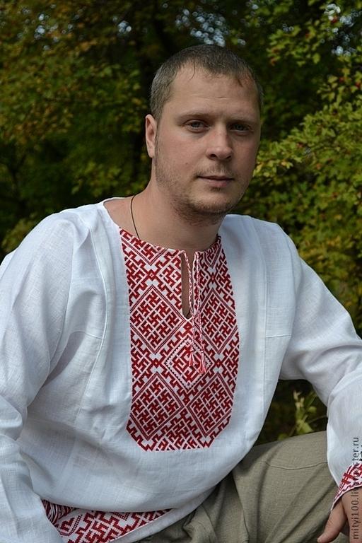 Одежда ручной работы. Ярмарка Мастеров - ручная работа. Купить Рубаха Родимич. Handmade. Вышиванка, машинная вышивка