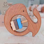 """Мягкие игрушки ручной работы. Ярмарка Мастеров - ручная работа Трясушка """"Китенок"""". Handmade."""