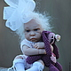 Куклы-младенцы и reborn ручной работы. Жадина. Елена Кириленко. Ярмарка Мастеров. Бант, хлопок