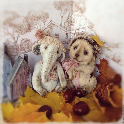 """Мишки Тедди ручной работы. Ярмарка Мастеров - ручная работа. Купить Наборчик """" Тедди Слоняша"""". Handmade. Комбинированный, слоник"""