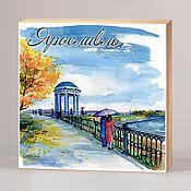 Сувениры и подарки handmade. Livemaster - original item Souvenir magnets Yaroslavl. Handmade.