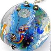 Украшения handmade. Livemaster - original item The pendant is Just you and the ocean. Handmade.