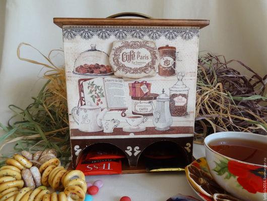 """Кухня ручной работы. Ярмарка Мастеров - ручная работа. Купить Чайный домик двойной """"Сafe de Paris"""". Handmade."""
