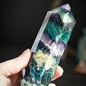 Фен-шуй и эзотерика handmade. Livemaster - original item Large crystal of fluorite KF-060. Handmade.