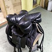 Для домашних животных, handmade. Livemaster - original item Simple Cossack saddle with a Kabardian (Caucasian) cushion. Handmade.