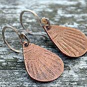 Украшения handmade. Livemaster - original item Silver Peacock earrings. Handmade.
