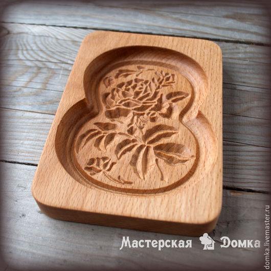 Форма для печатных пряников Роза 8 марта