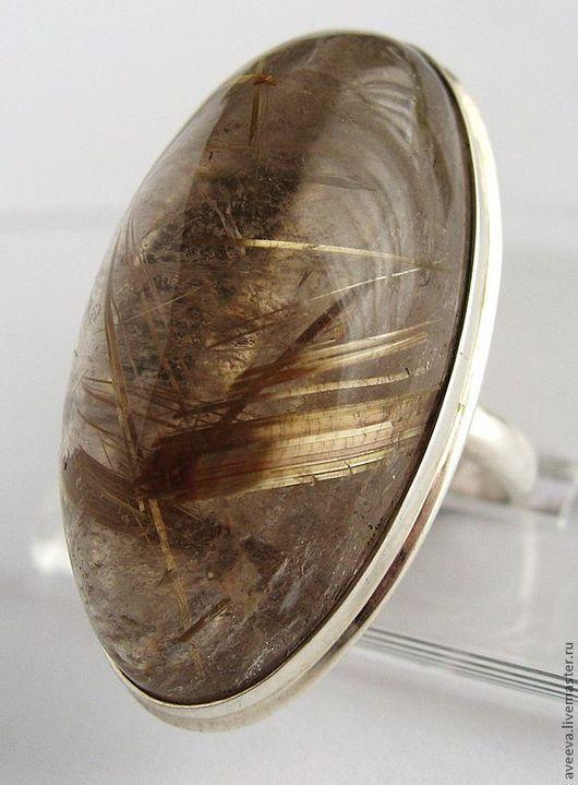 """Кольца ручной работы. Ярмарка Мастеров - ручная работа. Купить Кольцо """"Мазаль""""(серебро,волосатик). Handmade. Кольцо, серебряное кольцо"""
