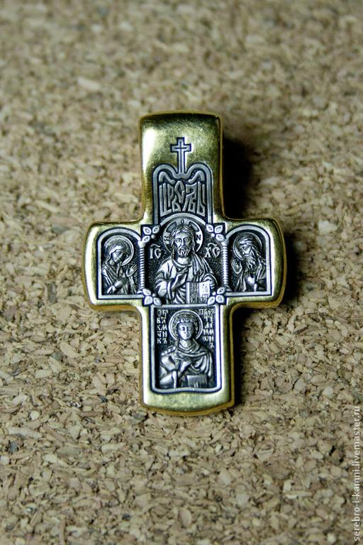 Кулоны, подвески ручной работы. Ярмарка Мастеров - ручная работа. Купить серебряный крест (православный). Handmade. Серебряный, крестик, религия