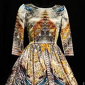 """Одежда ручной работы. Ярмарка Мастеров - ручная работа платье """"Хищница"""" . Рептилия. Handmade."""