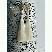 Свадебный салон handmade. Livemaster - original item Earring of the brush