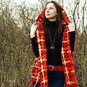 Одежда handmade. Livemaster - original item Super-transformer. The grid is made of natural wool. Handmade.