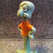 Куклы и игрушки ручной работы. Ярмарка Мастеров - ручная работа Сквидворд. Мультсериал Губка Боб.. Handmade.