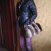 Винтажная одежда ручной работы. Ярмарка Мастеров - ручная работа Куртка осенняя из натуральной кожи  ( на подстежке). Handmade.