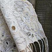 Аксессуары handmade. Livemaster - original item Large double sided felted tippet
