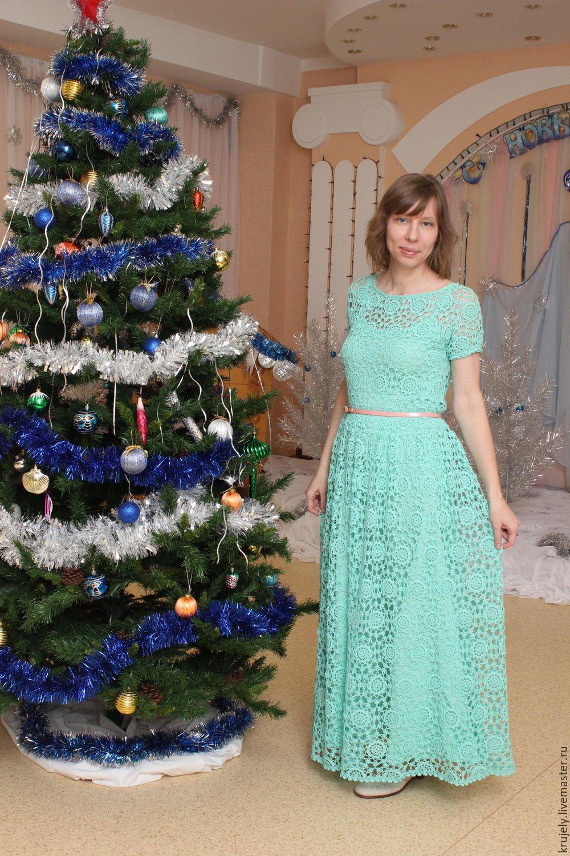 платье Незабудка, Схемы для вязания, Новоуральск,  Фото №1