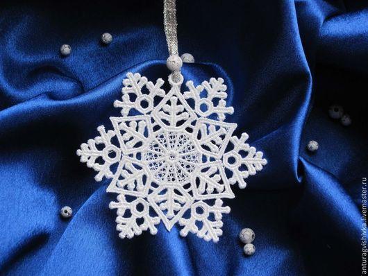 Новогодний подарок, Снежинка кружевная, Новогодний сувенир, Елочное украшение, Новогодние игрушки, Новый год, Подарок на Новый год, Новогодний декор