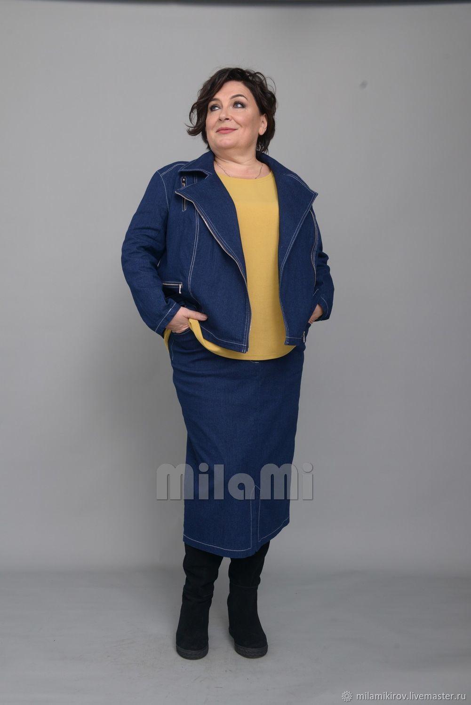 Straight tunic with short sleeves olive, PE Italy Art. Four thousand one hundred three, Tunics, Kirov,  Фото №1