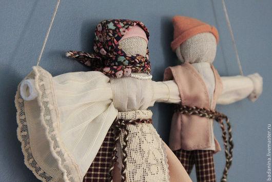 Народные куклы ручной работы. Ярмарка Мастеров - ручная работа. Купить Свадебный Подарок Кукла Неразлучники. Handmade. Свадебный подарок