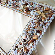 Для дома и интерьера handmade. Livemaster - original item Mirror in a frame