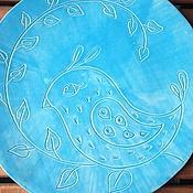 Посуда ручной работы. Ярмарка Мастеров - ручная работа Птичка счастья. Handmade.