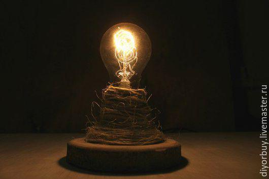 """Освещение ручной работы. Ярмарка Мастеров - ручная работа. Купить Малая """"Ретро"""" Лампа. Handmade. Лампа, лампа в подарок"""