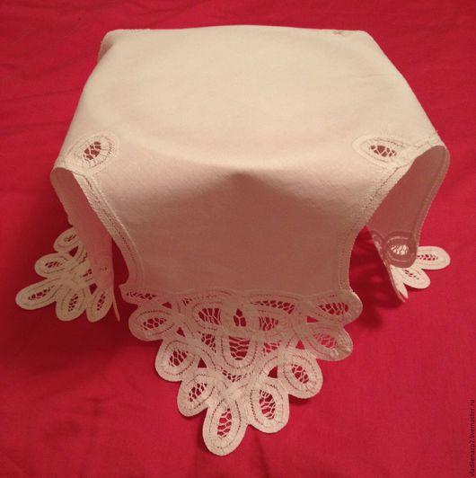 Текстиль, ковры ручной работы. Ярмарка Мастеров - ручная работа. Купить Пасхальная салфетка винтаж. Handmade. Салфетка, хлопок 100%