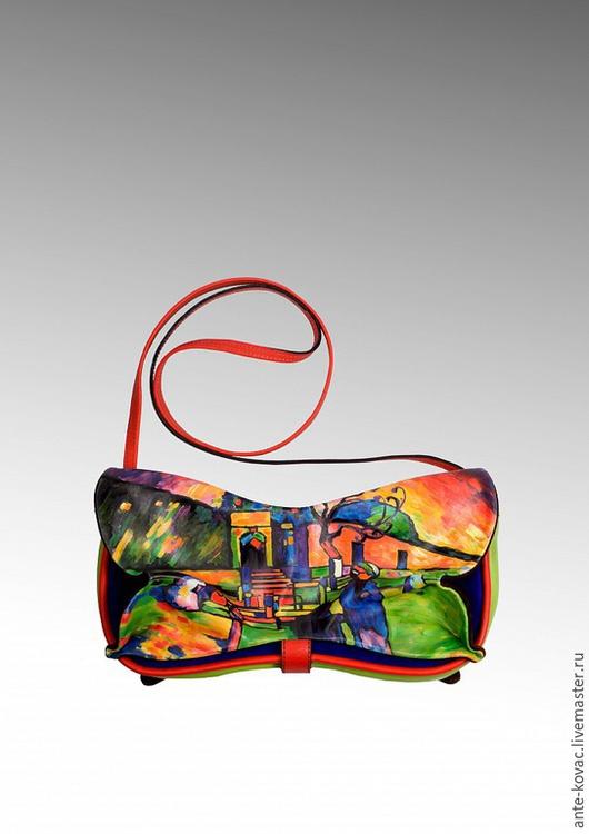 """Женские сумки ручной работы. Ярмарка Мастеров - ручная работа. Купить Клатч Ангулем """"Арабы"""". Handmade. Разноцветный, ручная работа"""