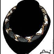 """Украшения ручной работы. Ярмарка Мастеров - ручная работа Вязаный жгут """"Змейка"""". Handmade."""