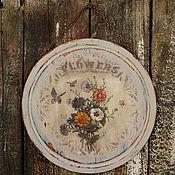 """Картины и панно ручной работы. Ярмарка Мастеров - ручная работа Пано """"Flowers"""". Handmade."""