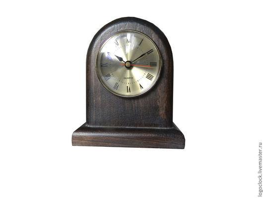 Часы для дома ручной работы. Ярмарка Мастеров - ручная работа. Купить Классические настольные часы. Handmade. Коричневый, часы для кабинета