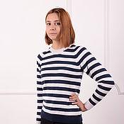 Одежда handmade. Livemaster - original item Women`s sweater - French. Handmade.