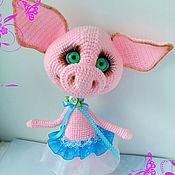 Куклы и игрушки ручной работы. Ярмарка Мастеров - ручная работа Хрюша Нюша. Handmade.