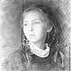 Портрет по фото (Школьница).