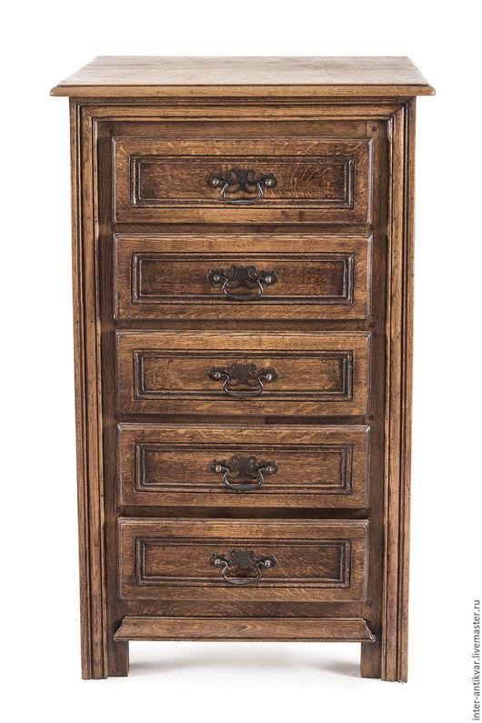 Мебель ручной работы. Ярмарка Мастеров - ручная работа. Купить Невысокий узкий шкаф-комод с набором ящиков 16БР0036. Handmade.
