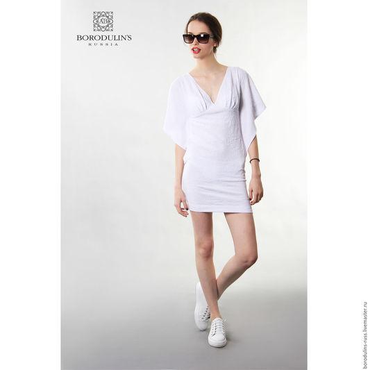 """Платья ручной работы. Ярмарка Мастеров - ручная работа. Купить Платье""""Крылья бабочки"""" ( белое). Handmade. Белый, спортивное платье"""