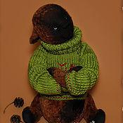 Куклы и игрушки ручной работы. Ярмарка Мастеров - ручная работа Мишка тедди Степан. Handmade.
