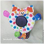 Куклы и игрушки ручной работы. Ярмарка Мастеров - ручная работа Игрушка на объектив котик. Handmade.