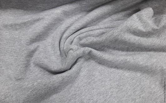 """Шитье ручной работы. Ярмарка Мастеров - ручная работа. Купить Футер """"Серый меланж"""" 2-х нитка с начесом. Handmade."""