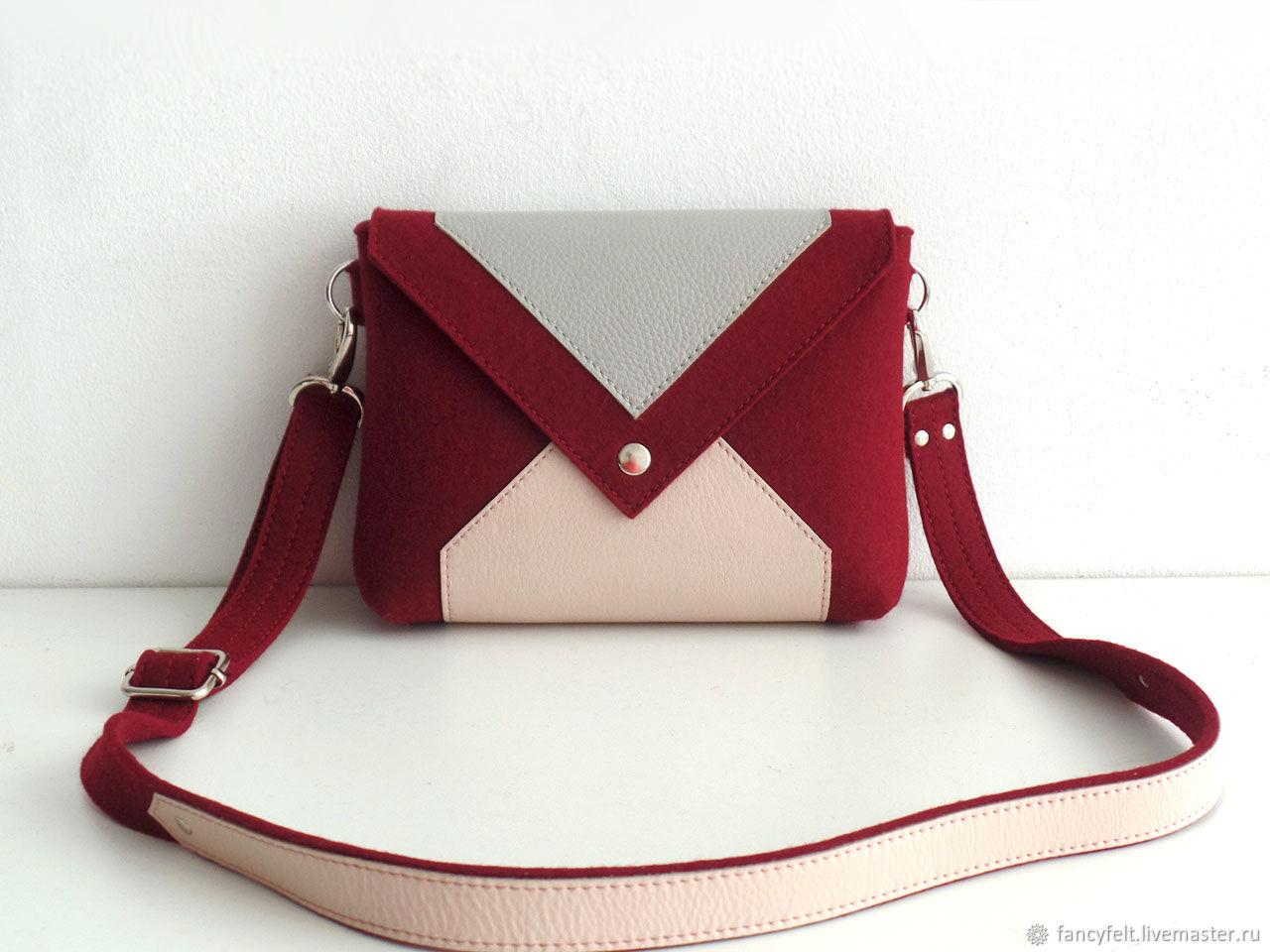 34dc532f5b82 Женские сумки ручной работы. Ярмарка Мастеров - ручная работа. Купить  Винная сумка через плечо ...