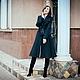 Верхняя одежда ручной работы. Заказать Женское пальто в ретро стиле. Анна-Лиза (Мода вне времени ТМ). Ярмарка Мастеров.
