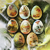 handmade. Livemaster - original item Soap egg for Easter with picture Easter gift buy Moscow. Handmade.