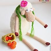 Куклы и игрушки ручной работы. Ярмарка Мастеров - ручная работа Вязаная овечка Фруша. Handmade.