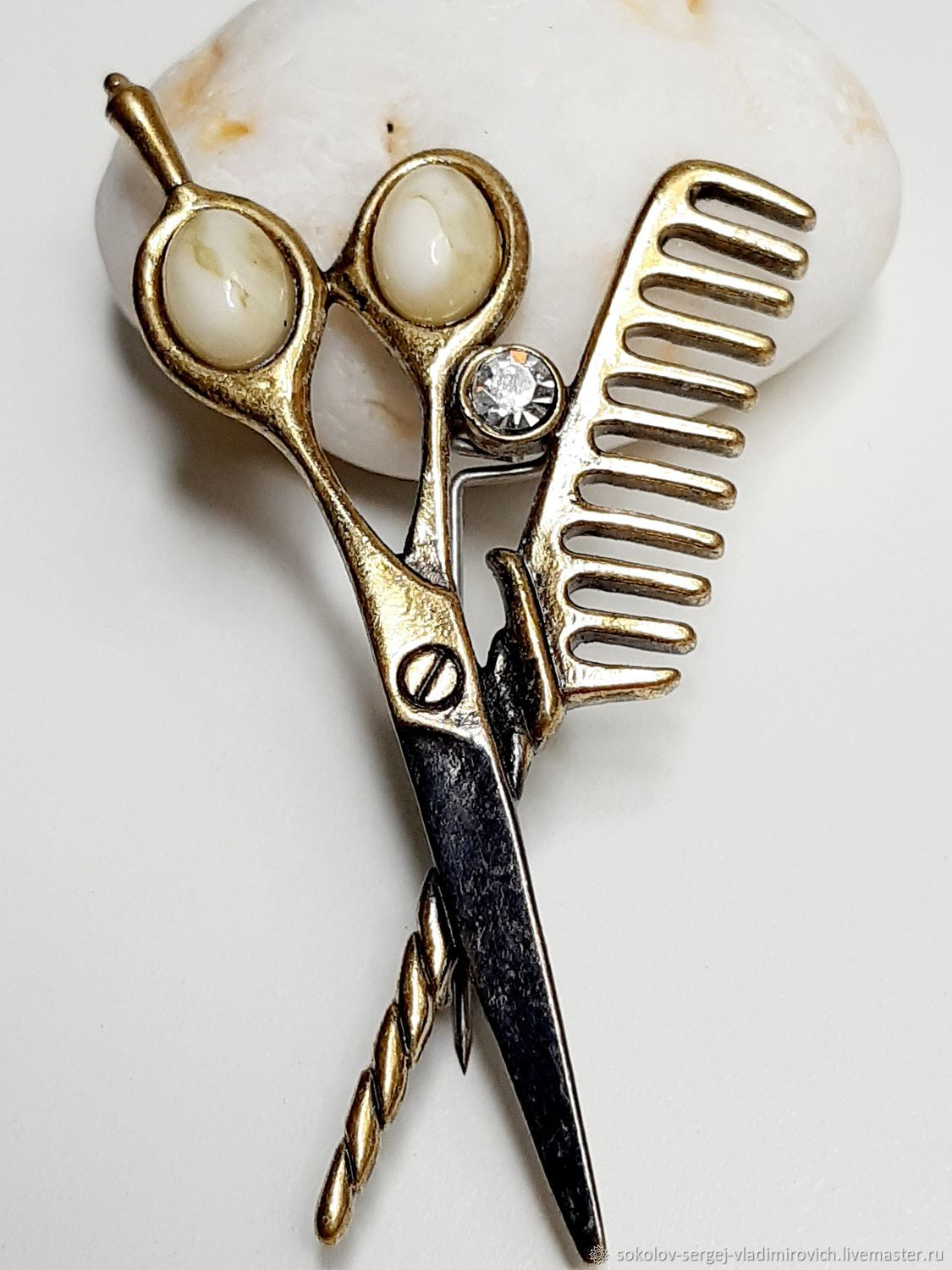 Brooch Barber Set, Brooches, Moscow,  Фото №1