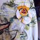 """Платья ручной работы. Заказать """"Блюз белых цветов""""Платье. Рыкова Наталия (Nataly Rykova). Ярмарка Мастеров. Вязаное платье"""