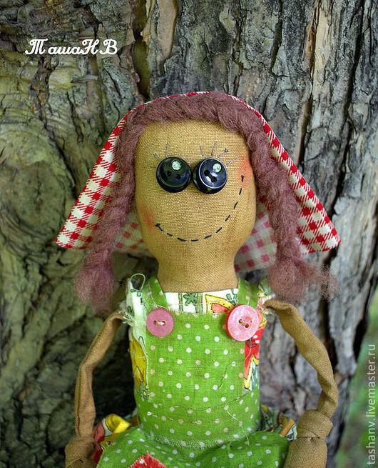 Ароматизированные куклы ручной работы. Ярмарка Мастеров - ручная работа. Купить Красная шапочка:). Handmade. Зеленый, чердачная кукла, корица