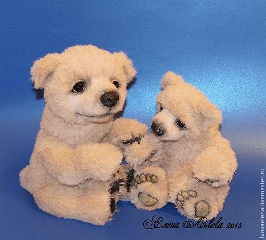Мишки Тедди ручной работы. Ярмарка Мастеров - ручная работа. Купить Дарси. Handmade. Бежевый, авторская ручная работа