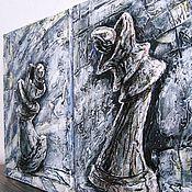"""Картины и панно ручной работы. Ярмарка Мастеров - ручная работа """"Притяжение"""" модульная картина. Handmade."""
