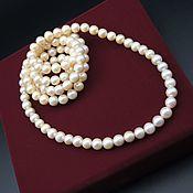 Necklace handmade. Livemaster - original item AAA grade natural pearl beads. Handmade.